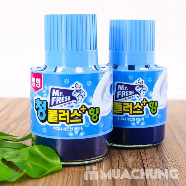 2 ống thả bồn cầu diệt khuẩn, thơm mát Hàn Quốc - 9