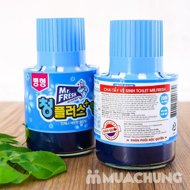 2 ống thả bồn cầu diệt khuẩn, thơm mát Hàn Quốc - 7