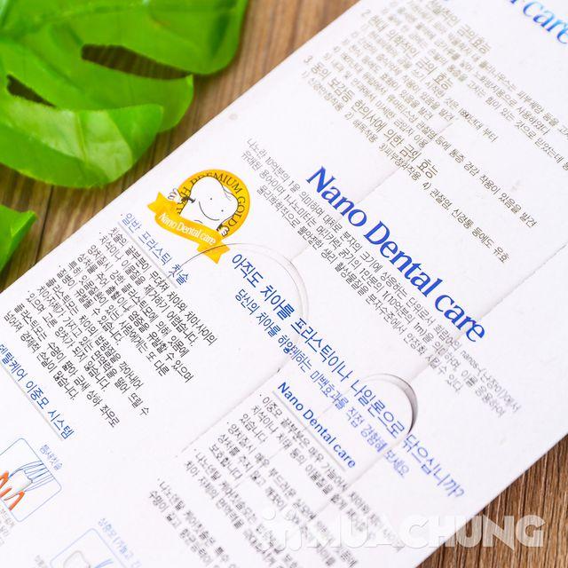 Vỉ 4 bàn chải đánh răng Nano - NK Hàn Quốc - 10
