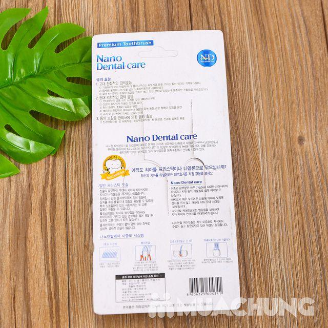 Vỉ 4 bàn chải đánh răng Nano - NK Hàn Quốc - 9