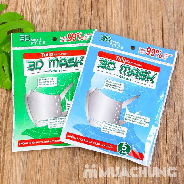 08 gói khẩu trang TuLip 3D Mask (5 chiếc/1 gói) - 1