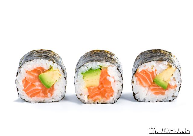 """Cuốn sushi với """"ống Bazooka"""" cực độc đáo - 9"""