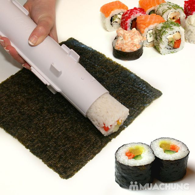 """Cuốn sushi với """"ống Bazooka"""" cực độc đáo - 10"""