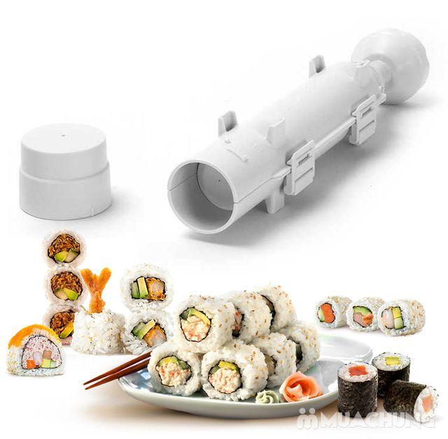 """Cuốn sushi với """"ống Bazooka"""" cực độc đáo - 8"""
