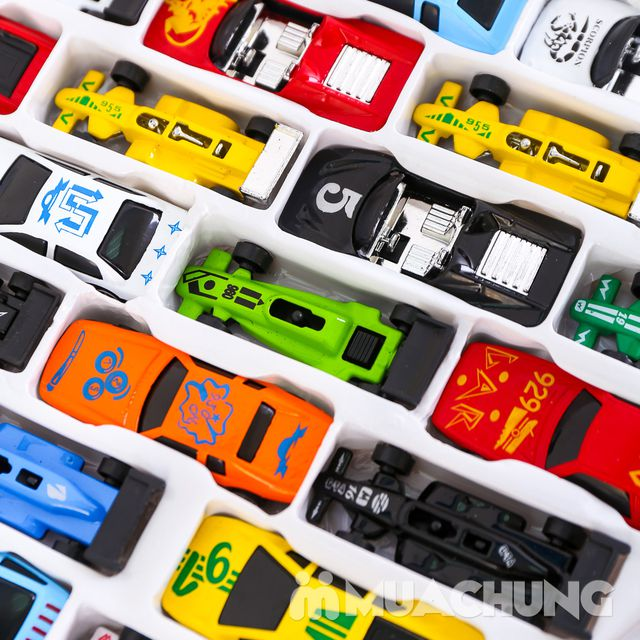 Vỉ 50 ô tô nhiều màu - Bộ sưu tập xe của bé - 8