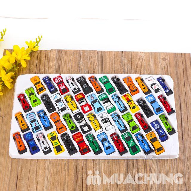 Vỉ 50 ô tô nhiều màu - Bộ sưu tập xe của bé - 7