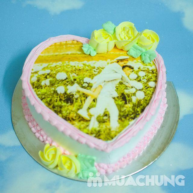 Voucher in ảnh trên bánh gato kem tươi tuyệt hảo - 4