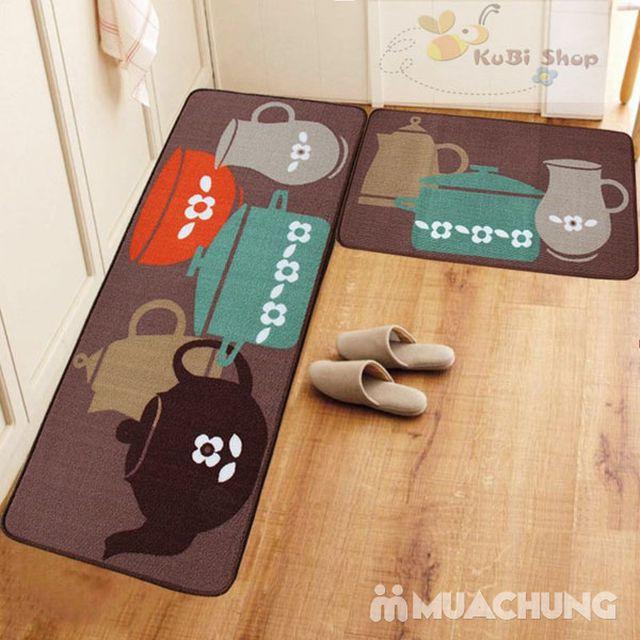 Bộ thảm lau chân nhà bếp - 5