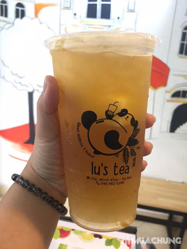 Voucher giảm giá toàn menu Trà sữa Lu's Tea  - 6