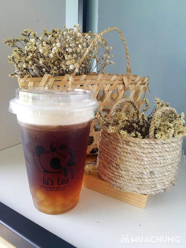 Voucher giảm giá toàn menu Trà sữa Lu's Tea  - 3