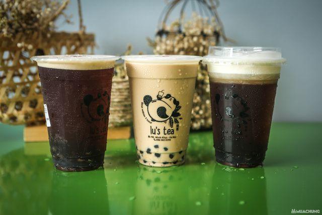 Voucher giảm giá toàn menu Trà sữa Lu's Tea  - 8