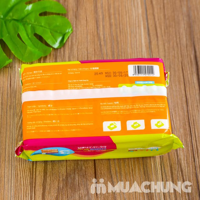 06 gói giấy ướt trẻ em 100 tờ YKO công nghệ Nhật - 9