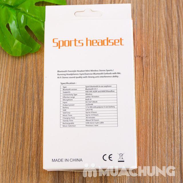 Tai nghe bluetooth Sports Headset - BH 3 tháng - 6