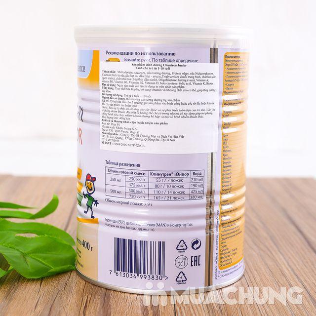Sữa bột tăng cân Clinutren Junior 400g NK Nga - 3