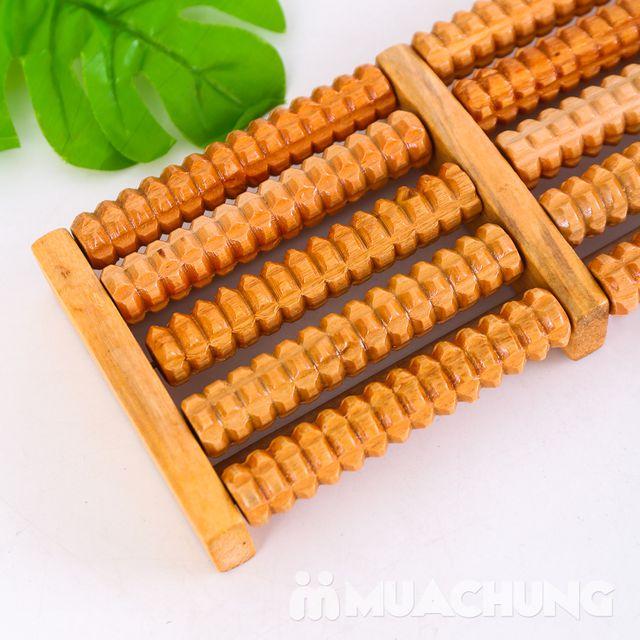 Dụng cụ massage chân di động bằng gỗ loại 5 thanh - 6