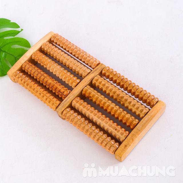 Dụng cụ massage chân di động bằng gỗ loại 5 thanh - 5
