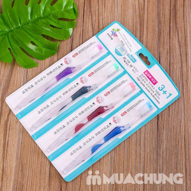 4 bàn chải đánh răng cán trong nhập khẩu Hàn Quốc - 4