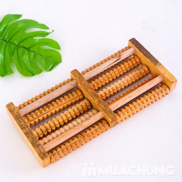 Dụng cụ massage chân di động bằng gỗ loại 5 thanh - 7