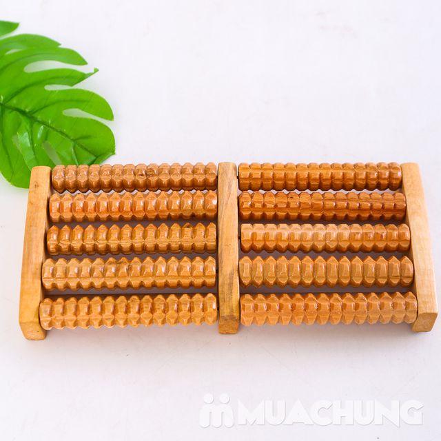 Dụng cụ massage chân di động bằng gỗ loại 5 thanh - 8
