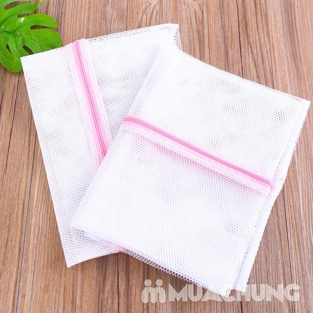 Set 2 túi giặt hoa tròn và 2 túi giặt 60 x 60cm - 11