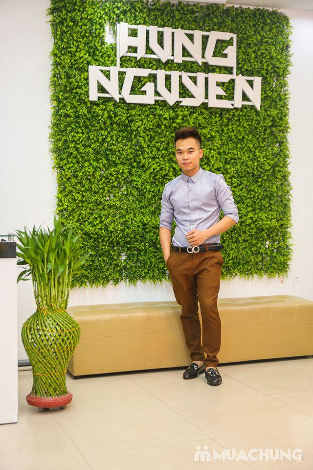 1 trong 5 gói tóc sành điệu-Hưng Nguyễn Hair Salon - 21