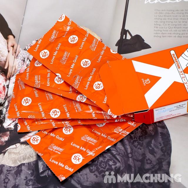 Giảm giá ưu đãi tại Muachung cho 2 hộp bao cao su Sagami Xtreme. Click mua ngay để được giảm giá cực HOT cho 2 hộp bao cao su Sagami Xtreme. - 4