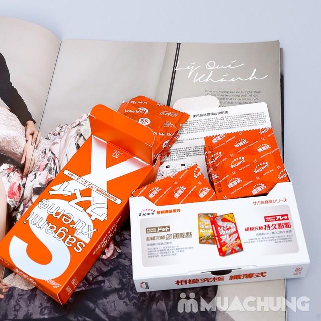 Giảm giá ưu đãi tại Muachung cho 2 hộp bao cao su Sagami Xtreme. Click mua ngay để được giảm giá cực HOT cho 2 hộp bao cao su Sagami Xtreme. - 3