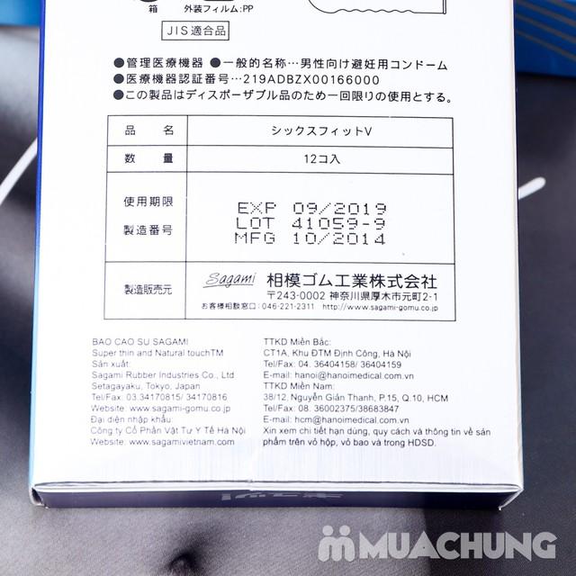 Giảm giá ưu đãi tại Muachung cho 2 hộp bao cao su Sagami. Click mua ngay để được giảm giá cực HOT cho 2 hộp bao cao su Sagami. - 4