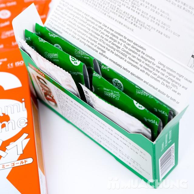 Giảm giá ưu đãi tại Muachung cho 2 hộp bao cao su Sagami. Click mua ngay để được giảm giá cực HOT cho 2 hộp bao cao su Sagami. - 3