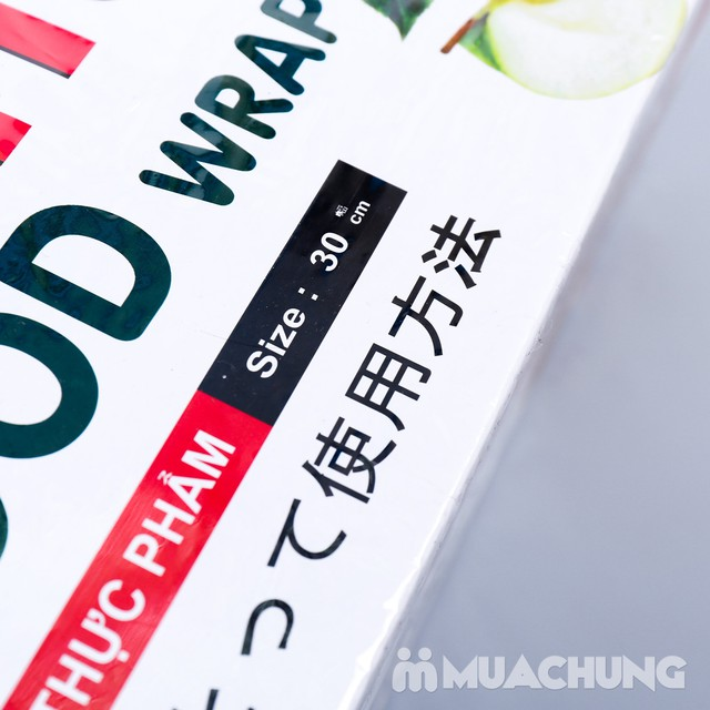 Giảm giá ưu đãi tại Muachung cho Màng bọc thực phẩm Eufood Wrap 415. Click mua ngay để được giảm giá cực HOT cho Màng bọc thực phẩm Eufood. - 4