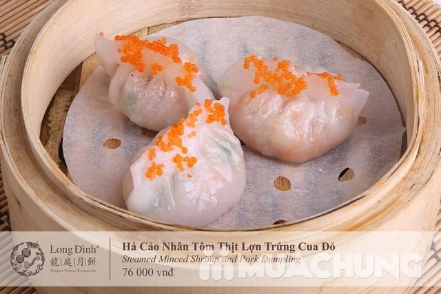 Voucher Dimsum cao cấp tại nhà hàng Long Đình- Duy nhất tại Muachung với mực giá cực hấp dẫn: chỉ 210.000đ cho các món tinh hoa - 1