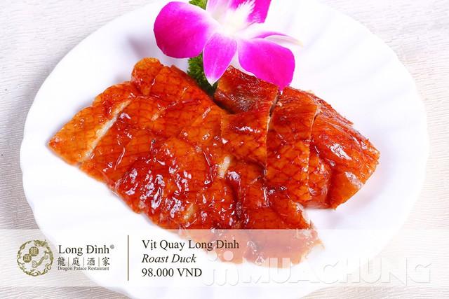 Voucher Dimsum cao cấp tại nhà hàng Long Đình- Duy nhất tại Muachung với mực giá cực hấp dẫn: chỉ 210.000đ cho các món tinh hoa - 7