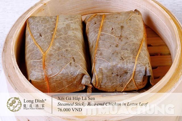 Voucher Dimsum cao cấp tại nhà hàng Long Đình- Duy nhất tại Muachung với mực giá cực hấp dẫn: chỉ 210.000đ cho các món tinh hoa - 4