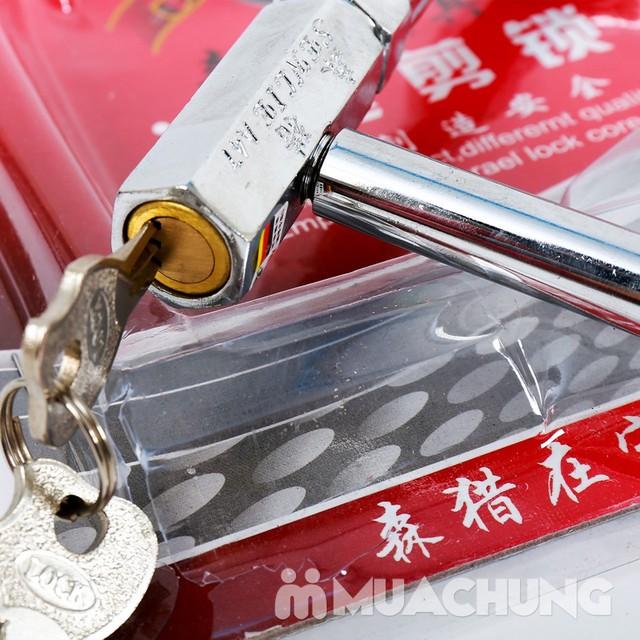 Giảm giá ưu đãi tại Muachung cho Khóa chữ U inox chống trộm. Click mua ngay để được giảm giá cực HOT cho Khóa chữ U inox chống trộm. - 2