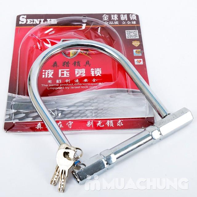 Giảm giá ưu đãi tại Muachung cho Khóa chữ U inox chống trộm. Click mua ngay để được giảm giá cực HOT cho Khóa chữ U inox chống trộm. - 1