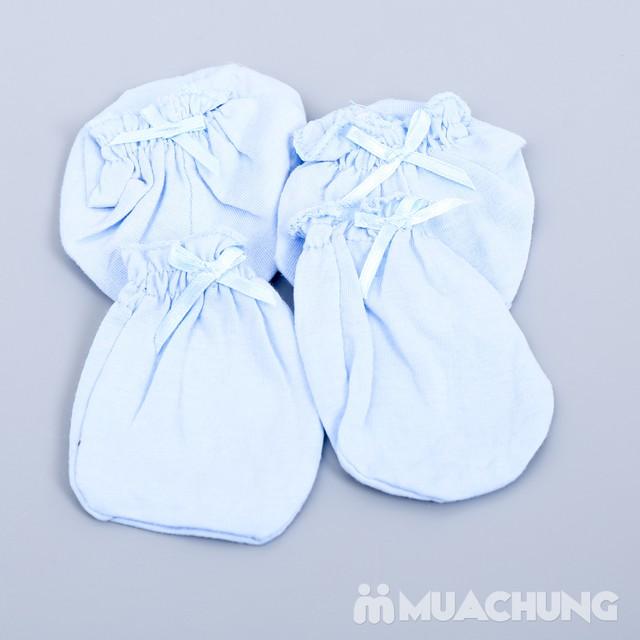 Combo 10 bộ bao tay, chân cho bé sơ sinh chất cotton mềm mại với giá chỉ 70.000đ - 2