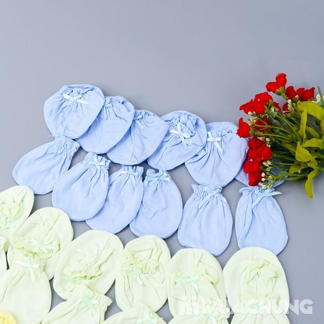 Combo 10 bộ bao tay, chân cho bé sơ sinh chất cotton mềm mại với giá chỉ 70.000đ - 4