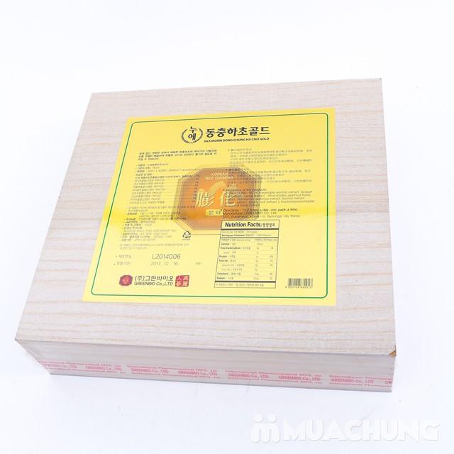 Đông trùng hạ thảo hộp gỗ nhập khẩu Hàn Quốc - giảm giá cực sốc duy nhất chỉ có tại MuaChung - 7