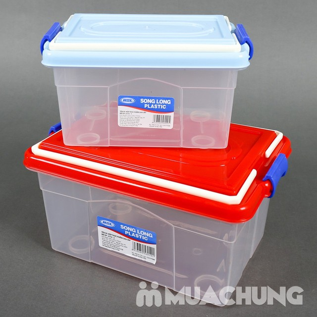 Combo khay úp cốc & 2 hộp thực phẩm Song Long - 3