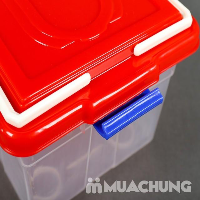Combo khay úp cốc & 2 hộp thực phẩm Song Long - 6