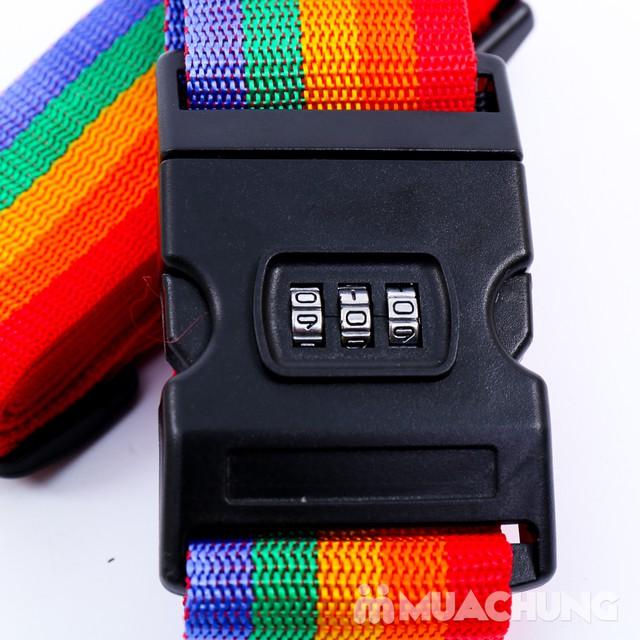 Combo 2 Bộ dây đai khóa số chắc chắn cho vali - 5