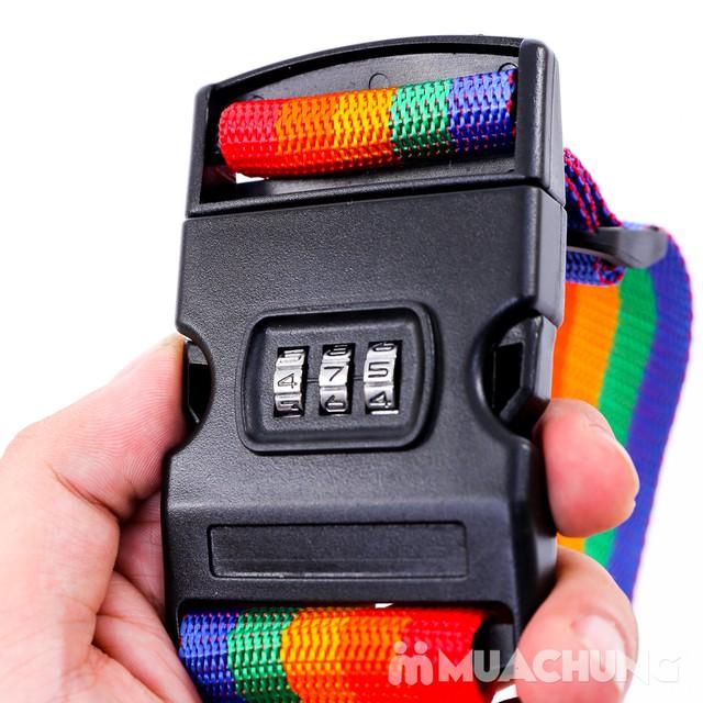 Combo 2 Bộ dây đai khóa số chắc chắn cho vali - 4