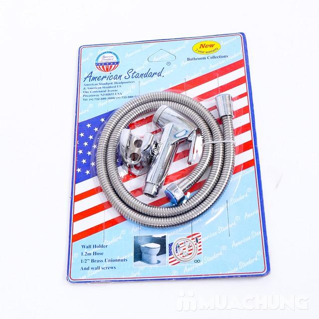 Vòi xịt nhà vệ sinh inox  - 9