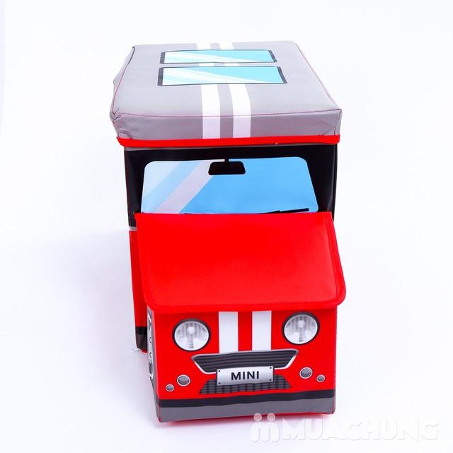 Ghế hộp đựng đồ hình ôtô ngộ nghĩnh - 7
