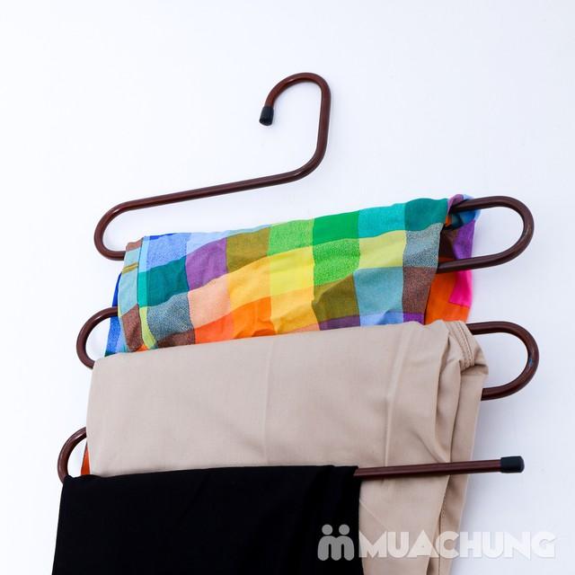 Móc treo quần và khăn 5 tầng thông minh - 1