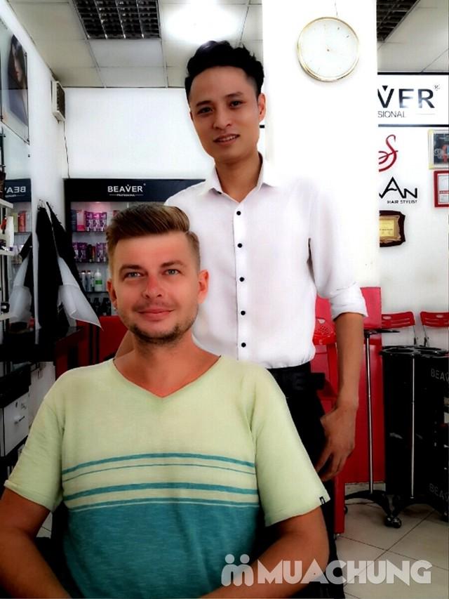Trọn Gói làm tóc đẳng cấp Viện tóc Hà An Cây kéo vàngSG - 8