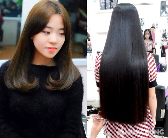 Trọn Gói làm tóc đẳng cấp Viện tóc Hà An Cây kéo vàngSG - 1