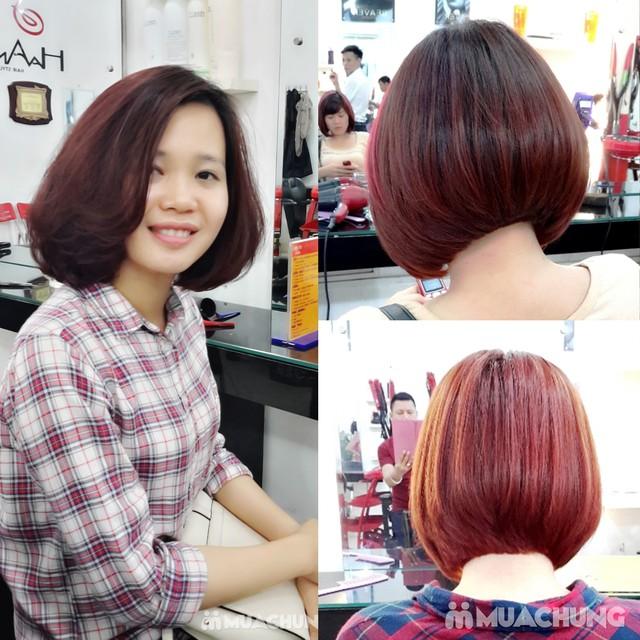 Trọn Gói làm tóc đẳng cấp Viện tóc Hà An Cây kéo vàngSG - 3
