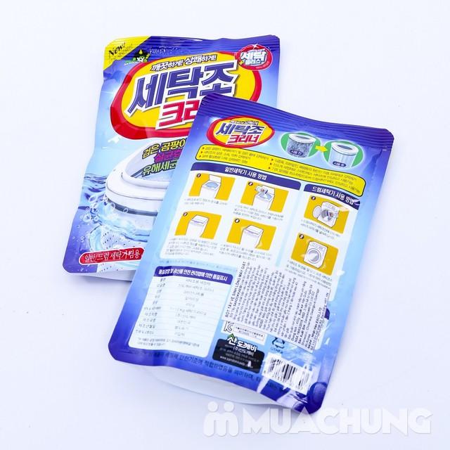 2 túi bột tẩy vệ sinh lồng máy giặt Sandokkaebi nhập khẩu Hàn Quốc - 5