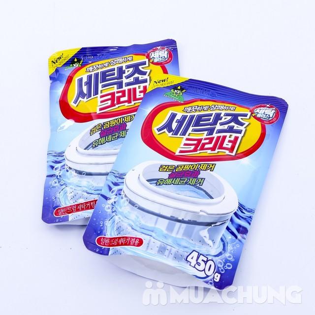 2 túi bột tẩy vệ sinh lồng máy giặt Sandokkaebi nhập khẩu Hàn Quốc - 4